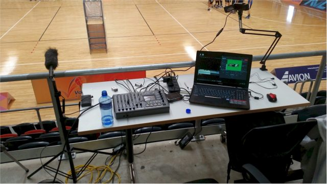Event Picture Production Broadcast desk